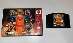 Turok 3 Shadow Of Oblivion Nintendo 64 N64 In Box Authentic