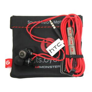 Monster Beats by Dr. Dre HTC Headset Kopfhörer In-Ears 3,5 mm Klinke schwarz