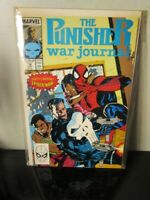 PUNISHER WAR JOURNAL #14,(1988 MARVEL) JIM LEE BAGGED BOARDED~