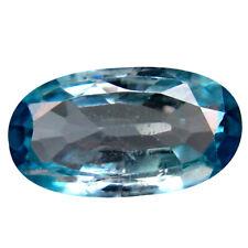 1.75 ct Splendid Oval Cut (10 x 6 mm) Cambodia Blue Blue Zircon Natural Gemstone