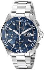 Tag Heuer Aquaracer Calibre 16 Chronograph Auto Blue Dial Watch CAY211B.BA0927