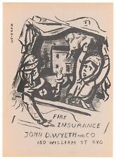 Gerrit Hondius original lithograph - 1952