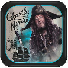PIRATES OF THE CARIBBEAN Dead Men Tell No Tales SMALL PAPER PLATES (8) ~ Party