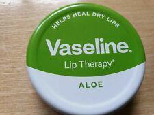 Aloe Vera Vaseline Lip Therapy Balm Petroleum Jelly 20g Pocket Size Pots