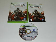Assassin's Creed II Microsoft Xbox 360 Video Game Complete