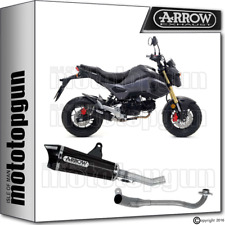 Arrow Full System Exhaust XCONE NICHROM Dark CARBY Cup Hom Honda MSX 125 2016 16