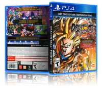 Dragonball FighterZ: Day One Edition - ReplacementPS4 Cover and Case. NO GAME!!