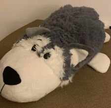 "Flipazoo Asher Husky Poppi Polar Bear Plush 18"" Long Holiday Gift Stuffed Animal"