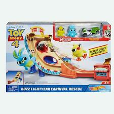 Hot Wheels and Disney Pixar Buzz Lightyear Character Car Play Set Toy Story 4