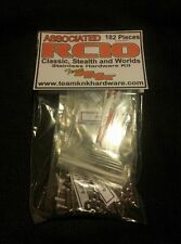 NEW RC10 Stainless Hardare Kit (Gold Pan Worlds Graphite Vintage Associated)