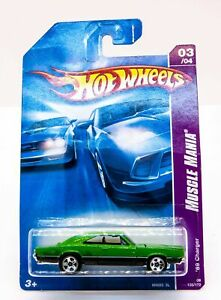 2008 Hot Wheels 03/04 Muscle Mania M6893 69 Dodge Charger Factory Sealed 135/172