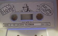 Hero of the Golden Talisman C 64 cassette (tape) (game)