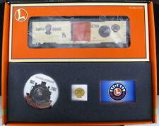 Lionel Trains O-Scale 2000 LIONEL GOLD MEMBER CLUB BOX CAR SET *MINT*