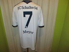 "FC Schalke 04 Adidas Auswärts Trikot 2013/14 ""GAZPROM"" + Nr.7 Meyer Gr.XL TOP"