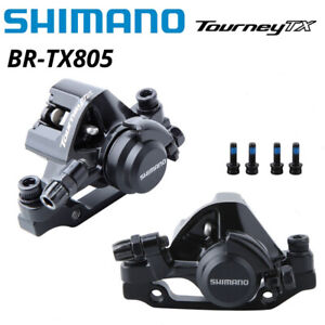 Shimano Tourney TX BR-TX805 MTB Bike Mechanical Disc Brake Calipers BR-M375 New