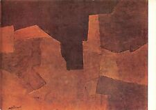 Serge Poliakoff Composition, marron Zurich, Privatbesitz