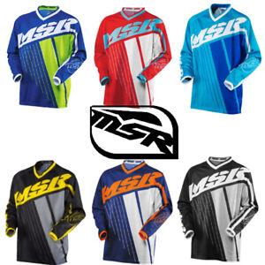 MSR Motocross Jersey AXXIS MX Jersey MTB DH Off Road Enduro MSR Motocross Jersey
