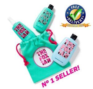 The Fox Tan Triple Tanning Threat With Bag Mist Elixir Sealer Rapid Accelerator