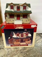 1997 LEMAX VAIL VILLAGE Cobblestone House Residence  CHRISTMAS In Box