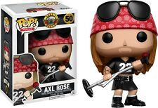 🎤 Funko POP! Rocks Guns N Roses 50 Axl Rose Vinyl Figure Rock Music Collectible