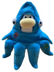 Disney Club Penguin Plush Stuffed Toy With Octopus Costume