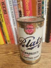 Blatz Pilsener 12oz Flat Top Beer Can   Indoor Can