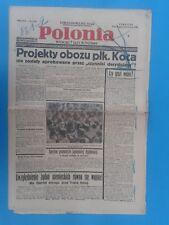 POLONIA Nr.4319 Katowicw 1936r.