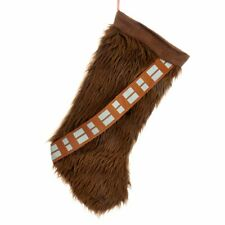 "Star Wars Chewbacca 18"" Plush Christmas Xmas Stocking Holiday NEW"