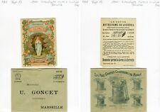 Dépt 13 - Marseille 16 Rue Bel Air - Carte + Enveloppe d'une Savonnerie 1900