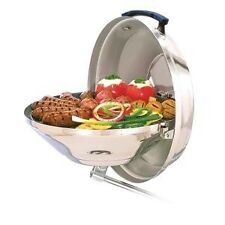 MARINE KETTLE by MAGMA - CHARCOAL BARBEQUE GRILL WITH HINGED LID