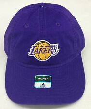 NBA Los Angeles Lakers Women's Adidas Adult Buckleback Cap Hat EB23W NEW!