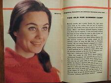 1961 TV Guide (SHARON HUGUENY/LISABETH HUSH/HORACE McMAHON/PAUL BURKE/NAKED CITY