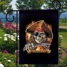 Dead Men Tell No Tales Pirate New Small Garden Yard Flag