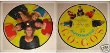 "GO-GO'S- Automatic b/w Tonight 7"" PICTURE DISC SINGLE"