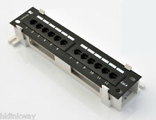 Launched New - CAT6 PATCH PANEL 12 PORTS WALL MOUNTING