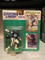 1993 CHRIS DOLEMAN Minnesota Vikings NM *FREE_s/h* Starting Lineup + bonus card