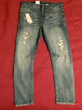 G-Star Raw Men's US 34x32 Jeans RE D-STAQ 3D Tapered Baton Denim NWT $280