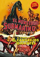 EL MONSTRUO SUBMARINO / EL ATAQUE DE LOS CANGREJOS GIGANTES