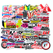 100PCS JDM Stickers Pack Car Motorcycle Racing Motocross Decals