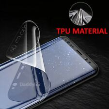 For SAMSUNG Galaxy S7 Edge TPU Screen Protector FILM COVER - CLEAR