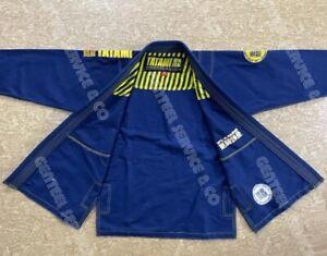 Best Quality Brazilian jiu jitsu Gi Tatami blue bjj kimono bjj uniform /A1 Size
