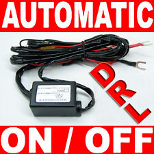 LED Daytime Running Light DRL Relay Harness Auto Control On/Off Switch kit C14