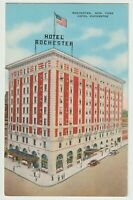 Unused Postcard Hotel Rochester Rochester New York NY