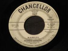 "Frankie Avalon ""True, True Love/Married"" 45"