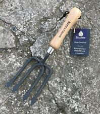 Kent & Stowe Round Tine Hand Fork  - Garden, Tool - Designed For Tougher Soil