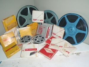 Lot of 8mm home movies 1960's  All reels are full most are writing on them