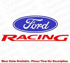 FORD RACING Mustang Die Cut Car Window Vinyl Decal Sticker Truck F-150 FD003