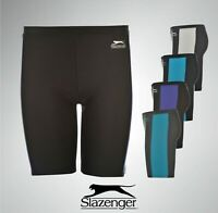 Boys Slazenger Swimming Jammers Shorts Swimwear Trunks Sizes Age 7-13 Yrs