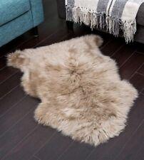 UGG 100% Genuine Sheepskin Rug, Sand Color