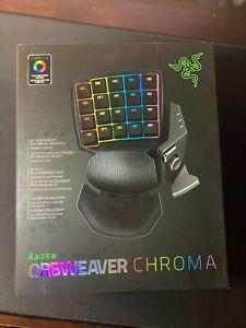 Factory Sealed Razer Orbweaver Chroma Mechanical Gaming Keypad
